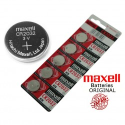 5 pilas botón Maxell batería CR-2032 de litio 3V lithium pila cr 2032 reloj calculadora