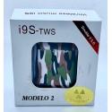 Auriculares inalámbricos i9S-TWS edición colors tipo AirPods bluetooth