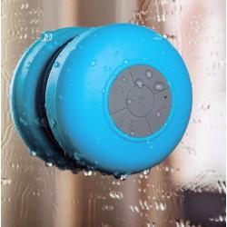 Comprar Mini Altavoz Ducha Mini Speaker Resistente al Agua Azul Barato