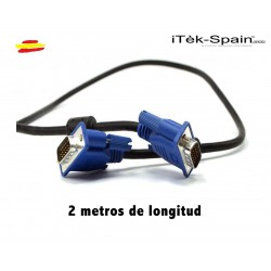 CABLE DE VIDEO PARA MONITOR VGA 15 PINES
