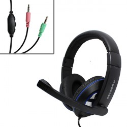 Auriculares con Micrófono Gaming Cascos para PS4 PC Xbox One headset baratos