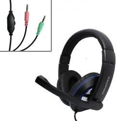 Auriculares con Micrófono Gaming Cascos para PS4 PC Xbox One headset baratos