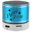 Mini Altavoz Mini Speaker S11 (Rojo)