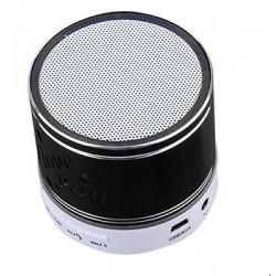 Altavoz Inalámbrico Bluetooth Portátil entrada Micro SD y auxiliar negro